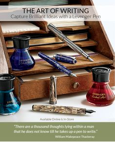 Rediscover the art of writing with a writing instrument from Levenger. We proudly design and develop our own well-regarded line of exclusive Levenger pens. Cursive Handwriting, Penmanship, Cute Stationary, Pen Design, Metal Engraving, Handwritten Letters, Fountain Pen Ink, Rollerball Pen, Pen Sets