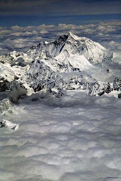 Photographies - Paysages - Matthieu Ricard - Photo - Landscape - Picture - Nature - Natural - Makalu - Montagne - Mountain - Cloud - Nuage