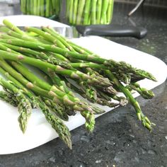 Storing Fresh Asparagus for up to 2 Weeks!
