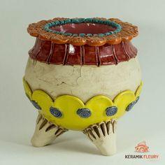 Duftlampen & Räucherhäuschen - Keramik-Fleury - Keramik für Haus und Garten