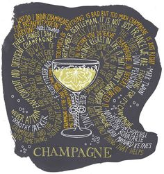 """Madame de Pompadour once said, """"Champagne is the only drink that leaves a woman still beautiful after drinking it."""""""