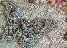 I ❤ beadwork . . . Shirlee Fassell's Award-Winning Quilting. She's fearless. And her choices of materials and colors are a treat for the senses. ~Plays With Needles: