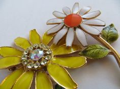 Vintage Brooches by RoniSeaVintage on Etsy, $22.50