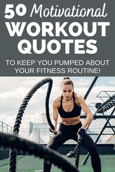 Need a little fitness inspiration to help keep you motivated to workout?  Read these 50 motivational workout quotes to help pump you up about sticking to a fitness routine! Workouts For Teens, Easy Workouts, Best Weight Loss, Healthy Weight Loss, Fitness Tips, Fitness Goals, Motivational Quotes For Working Out, Workout Quotes, Lose Body Fat