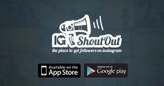 Instagram followers are what helps your brand get noticed. Instagram shoutouts help drastically. IG Shoutout is the first instagram promotion network.