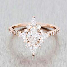 Pretty engagement ring www.ScarlettAvery.com