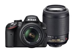 The Nikon D3200 DSLR! A new level of image quality, a familiar way of sharing. Don't let the D3200's compact size and price fool you—packed inside this easy to use HD-SLR is serious Nikon power: a 24.2 MP DX-format CMOS sensor that excels in any light, EXPEED 3 image-processing for fast operation and creative in-camera effects, Full HD (1080p) movie recording, in-camera tutorials and much more. What does this mean for you? Simply stunning photos and videos in any setting.
