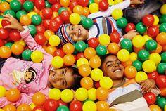 Kids Club Ball Pit at Shangri-La Barr Al Jissah Resort & Spa in #Oman