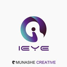 Cyber ieye logo by #MunasheCreative