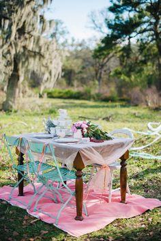 Bridesmaid tea party inspiration