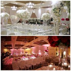 Check out this stunning transformation that took place between the ceremony and reception at Meredith & Steven's Four Seasons Philadelphia wedding. To view their preview, follow the link below: http://allurefilms.com/meredith-steven/ #PhiladelphiaWedding #FourSeasonsPhiladelphiaWedding #FourSeasonsPhiladelphia #PhiladelphiaWeddingLocations #PhiladelphiaWeddingVenues #AllureFilms