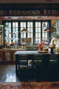 Bohemian kitchen: gildednest.wordpress.com