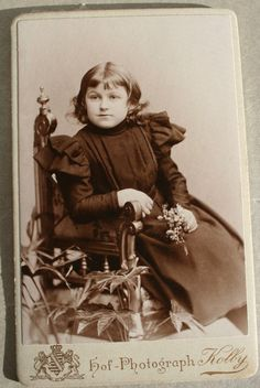 Child in Zwickau circa 1897