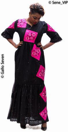 ROBE Fashion sénégalaise à la mode by GS