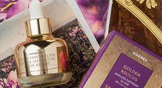 Ο Χρυσός Κρόκος του Κορρέ αποτελεί το  ελιξήριο νεότητας Perfume Bottles, Gold, Beauty, Beauty Illustration