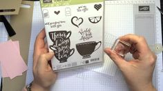 Stampin'Up! a Nice cuppa part 1 NL