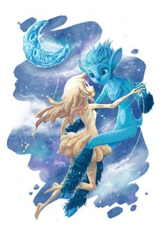 43 Glim And Mune Ideas Guardian Of The Moon Couple Cartoon Animated Movies