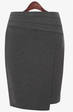 new Ideas sewing skirts pencil outfit Plus Size Pencil Skirt, High Waisted Pencil Skirt, Pencil Skirt Black, Plus Size Skirts, Sexy Skirt, Dress Skirt, Elisa Cavaletti, Work Skirts, Winter Skirt