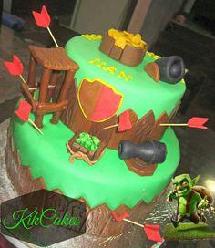 Clash of Clans cake 9th Birthday, Birthday Parties, Birthday Cakes, Birthday Ideas, Torta Clash Royale, Winter Desserts, Clash Of Clans, Cupcakes, Bar Mitzvah