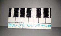 Make A Joyful Noise |Palanca Agape Idea Find more fun ideas at  YourFourthDayConnection.com