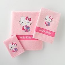 Hello Kitty Bath Towels