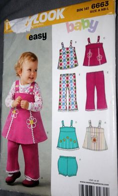 CHOOSE 1 PATTERN Baby Infant Toddler boy girl dress romper jacket overall one-pc | eBay