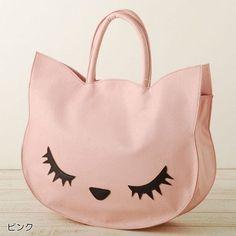 Flapper from Japan Cat Poohcah Tote Bag Kawaii Harajuku Girl | eBay