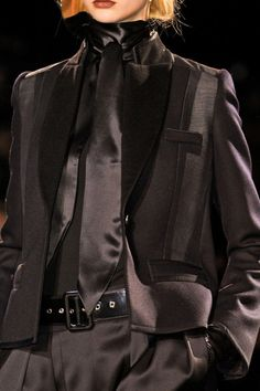 Givenchy, Fall 2012 (love the menswear look)