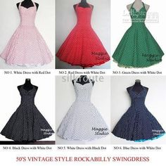 1950's swing dress | Picture about 1950'S VINTAGE STYLE ROCKABILLY SWING bridesmaid DRESS ...