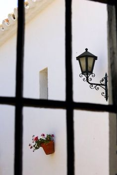 Patio en la bodega de la calle Muro. Vinos De Jerez #Sherry Wines