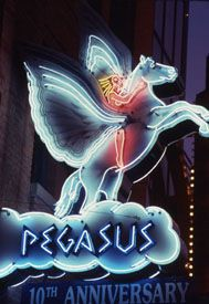 Pegasus Taverna, Greektown Detroit: I love this restaurant, food, ambiance… Greek Town, Neon Moon, Vintage Neon Signs, Neon Nights, Sign Lighting, Roadside Attractions, Old Signs, Detroit Michigan, Advertising Signs