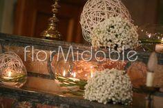 Addobbi e allestimenti floreali per matrimoni in Chiesa e in Comune | Flormidable