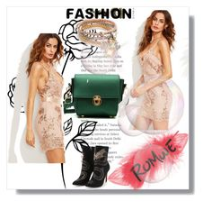 """ROMWE 10/10"" by women-miki ❤ liked on Polyvore featuring outfit and women"