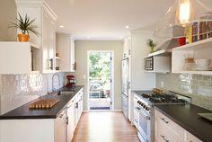 Bernal Heights Residence - transitional - kitchen - san francisco - Nerland Building & Restoration, Inc.