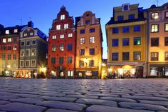 The historic area of Gamla Stan in Stockholm (founded in 1252) is the best place to look for a traditional Swedish meal.
