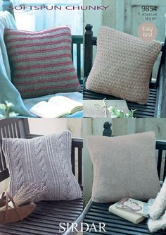 92fa9f24763 Cushion Covers In Sirdar Softspun Chunky Free Pattern Cushion Cover  Pattern