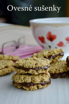 Cookie Recipes, Dessert Recipes, Slovak Recipes, Small Desserts, Gluten Free Cakes, Muesli, Healthy Sweets, Something Sweet, Christmas Baking