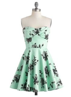 Cute minty dress