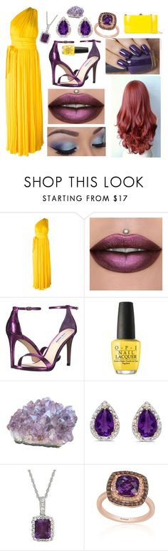 """Emma: June 11, 2017"" by disneyfreaks39 ❤ liked on Polyvore featuring Dsquared2, Steve Madden, OPI, Amanda Rose Collection, Effy Jewelry and Rocio"