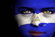 Gallery For Gt Nicaraguan Flag 2015 Hispanic Heritage Month, Beyond The Sea, Flag Face, The Beautiful Country, Language Activities, How To Speak Spanish, Central America, American Artists, Artsy