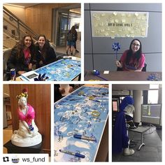 #Repost @ws_fund  On campus? Stop by any of our locations and sign a sticky make a gift or grab a t-shirt! #wsuday17 #woolife #WooPride #LancerNation
