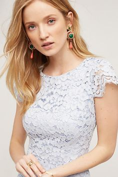 Lucienne Lace Sheath - anthropologie.com