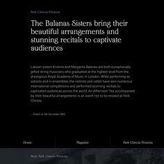 Fonts Used: Edwardian and Calibre • Typewolf Typography Inspiration