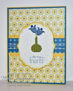 Summer Smooches Stampin Up. This would make a cute thank you or hope you're feeling better soon card.
