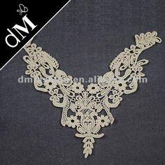 Ganchillo de algodón de cuello de encaje para las señoras trajes nl-1234-Cordón-Identificación del producto:617224090-spanish.alibaba.com