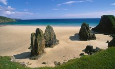 Tolsta Beach, Isle of Lewis The largest island of the Outer Hebrides, the glistening Isle of Lewis is home to some of Scotland's most fabulous beaches as well as spellbinding geographical features, each harking back to a prehistoric world.