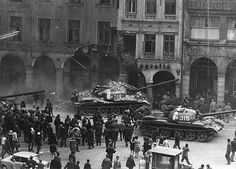 Prague Spring in 1968, Czechoslovakia