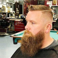 Beard Ideas, Beard Tips, Beard Styles For Men, Hair And Beard Styles, Beard No Mustache, Moustache, Hipster Beards, Tapered Beard, Shaved Head With Beard