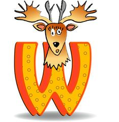 Alphabet latin — Wikimini, l'encyclopédie pour enfants Alphabet Latin, Images Alphabet, Letter W, Scooby Doo, Cartoon, Kids, Animals, Fictional Characters, French
