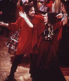Alan Rickman In The Movie Rasputin in 1997